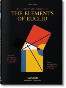 Byrne. Six Books of Euclid, Hardback Book
