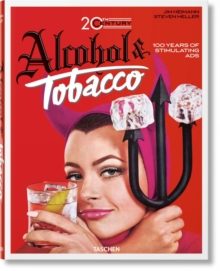 20Th Century Alcohol & Tobacco Ads, Hardback Book