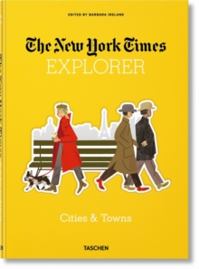 NYT Explorer. Cities & Towns, Hardback Book