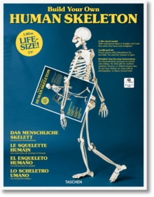 Build Your Own Human Skeleton - Life Size!, Book Book
