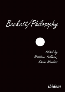 Beckett/Philosophy : A Collection, Paperback Book
