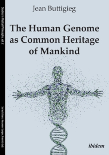 The Human Genome as Common Heritage of Mankind, Paperback / softback Book