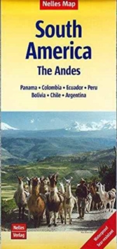 South America - Andes Cusco-Machu Picchu-Quito : NEL.013W, Sheet map, folded Book