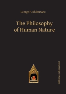 The Philosophy of Human Nature, Hardback Book
