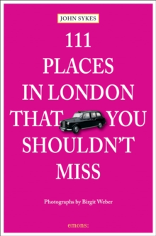111 Places in London That You Shouldnt Miss,  Book