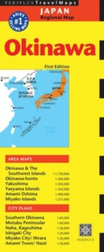 Travel Map Okinawa First Edition, Sheet map, folded Book