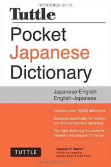 Tuttle Pocket Japanese Dictionary : Japanese-English English-Japanese, Paperback Book