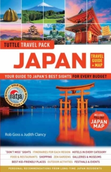 Japan Travel Guide and Map Tuttle Travel Pack, Paperback / softback Book