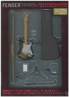 Fender the best collection 1954 : Stratocaster and Form Fit Case, Kit Book