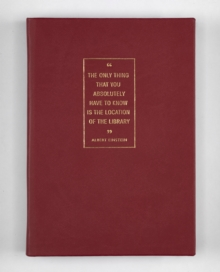 A5 NB RED THE ONLY THINK THAT YOU ABSOLU, Hardback Book
