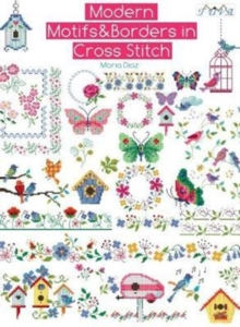 Modern Motifs & Borders In Cross Stitch, Paperback Book