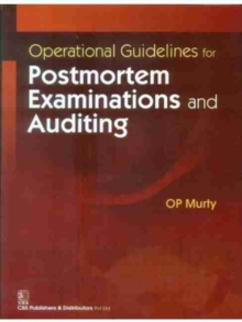 OPER GUIDELINES POSTMORTEM EXAM AUDITIN, Hardback Book