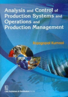 ANALYSIS CONTROL PRODUCTION SYSTEMS, Paperback Book
