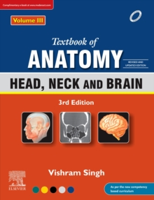 Textbook of Anatomy: Head, Neck and Brain, Vol 3, 3rd Updated Edition, eBook, EPUB eBook