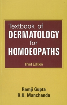 Textbook of Dermatology for Homoeopaths, Paperback / softback Book