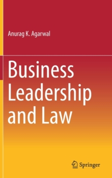 Business Leadership and Law, Hardback Book