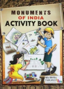 Monuments of India Activity Book, Paperback Book
