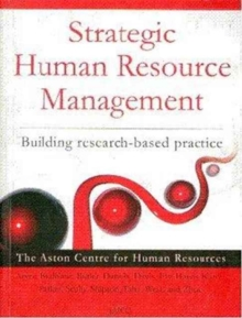 Strategic Human Resource Management : Building Research-Based Practice, Paperback Book