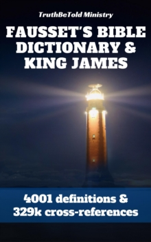 Fausset's Bible Dictionary and King James Bible, EPUB eBook