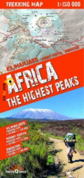 terraQuest Trekking Map Africa, Sheet map Book