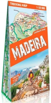 terraQuest Trekking Map Madeira, Sheet map Book