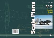 Scale Plans No. 22: Ilyushin Il-28, Paperback Book