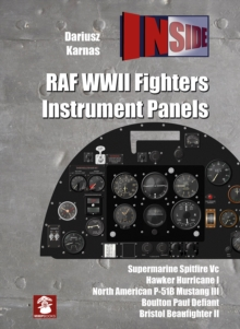 RAF WWII Fighters Instrument Panels, Hardback Book