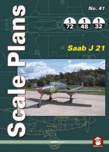 Scale Plans 41: Saab J 21, Paperback / softback Book