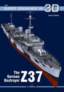 The German Destroyer Z37, Paperback / softback Book