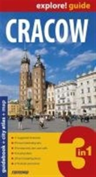 Cracow Explore Guide + City Atlas + Map : EXP-G478, Paperback Book