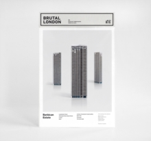 Brutal London: Barbican : Build Your Own Brutalist London, Paperback / softback Book