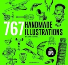 Handmade Illustration: 767 Handmade Illustrations, Mixed media product Book