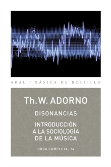 Disonancias / Introduccion a la sociologia de la musica, EPUB eBook