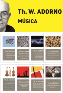Pack Adorno I. Musica, EPUB eBook