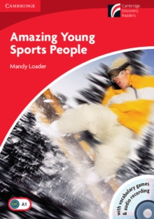 Amazing Young Sports People Level 1 Beginner/Elementary Book with CD-ROM/Audio CD Pack, Mixed media product Book