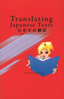 Translating Japanese Texts, Paperback Book
