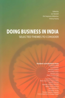 Doing Business in India : Selected Themes to Consider, Paperback Book