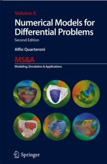 Numerical Models for Differential Problems, Hardback Book