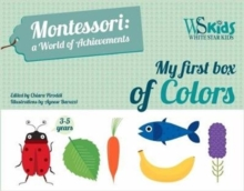 My First Box of Colors: Montessori a World of Achievements, Game Book