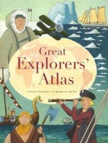 Great Explorers Atlas, Hardback Book