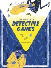 The Big Book of Detective Games, Board book Book