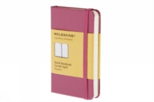 Moleskine Extra Small Magenta Ruled Notebook Hard, Notebook / blank book Book
