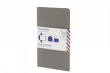 Moleskine Postal Notebook - Pocket Pebble Gray, Notebook / blank book Book