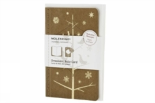 Moleskine Ornament Card Pocket - Mockingbirds, Cards Book