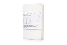 Moleskine Volant Extra Small Plain White 2-set, Multiple copy pack Book
