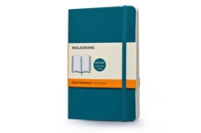 Moleskine Soft Cover Underwater Blue Pocket Ruled Notebook, Notebook / blank book Book
