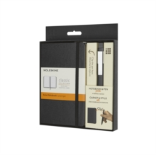 Moleskine Pocket Notebook And Classic Click Roller Pen - 0.5mm, Notebook / blank book Book
