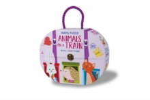 Animals on a Train, Hardback Book
