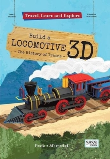 Build a Locomotive  3D, Paperback / softback Book