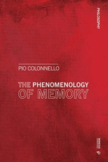 Phenomenology and Pathography of Memory, Paperback / softback Book